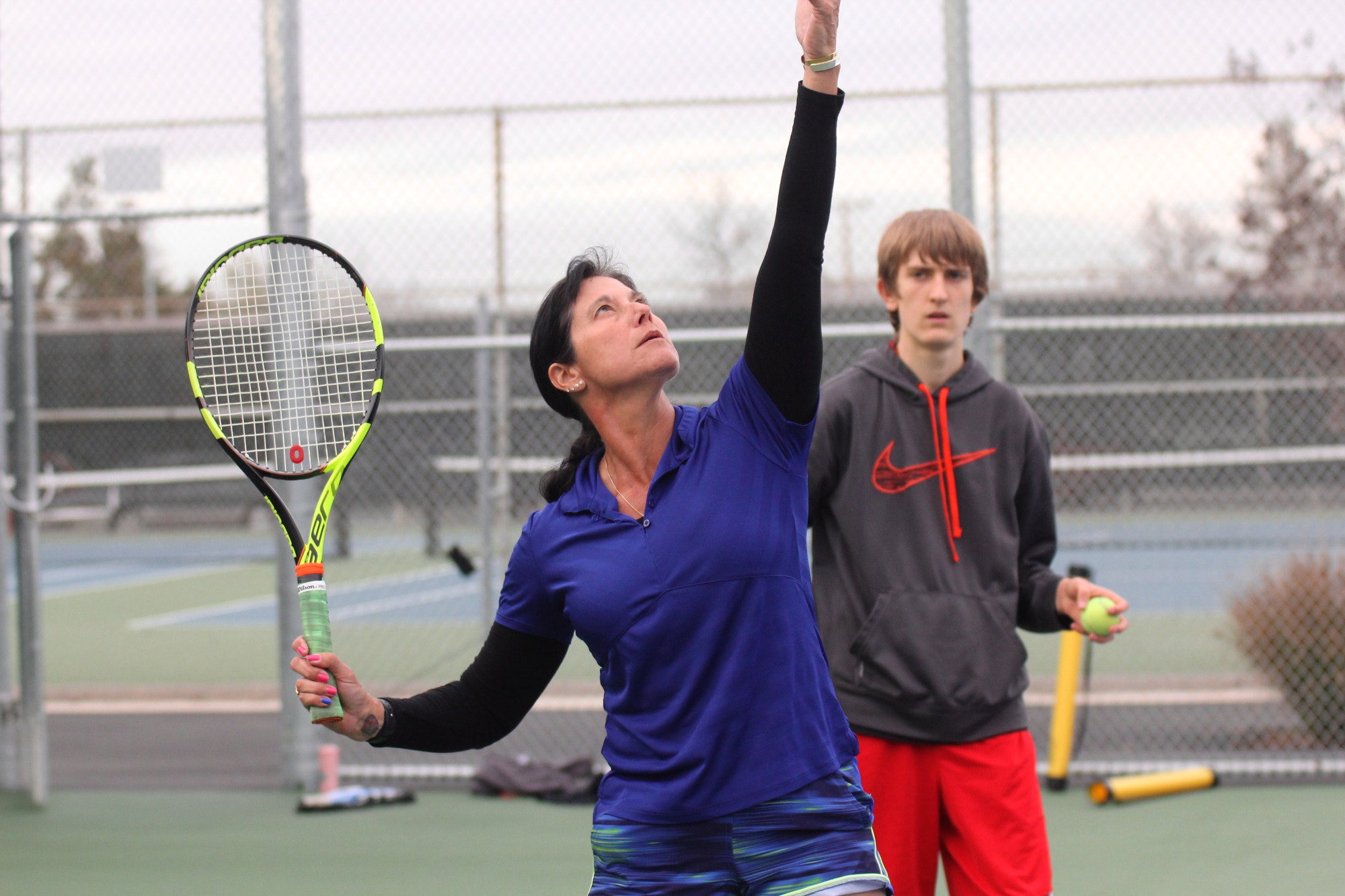 Vanessa B. teaches tennis lessons in Los Gatos, CA