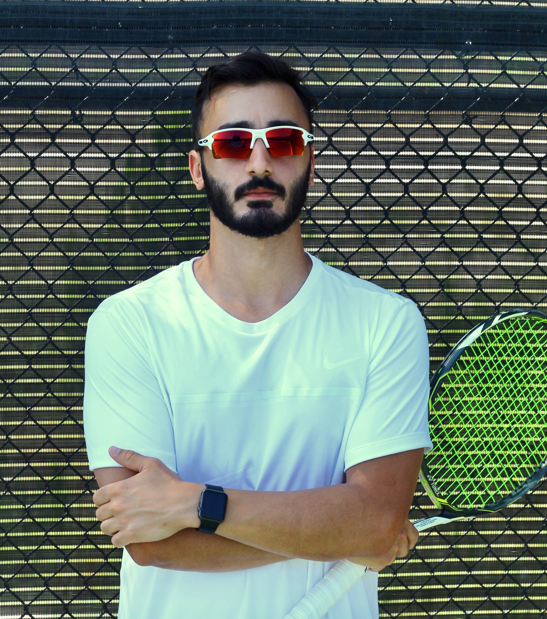 Sam T. teaches tennis lessons in Los Angeles, CA