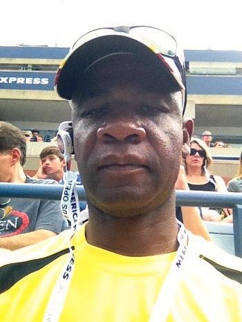 Emmanuel V. teaches tennis lessons in Rahway, NJ