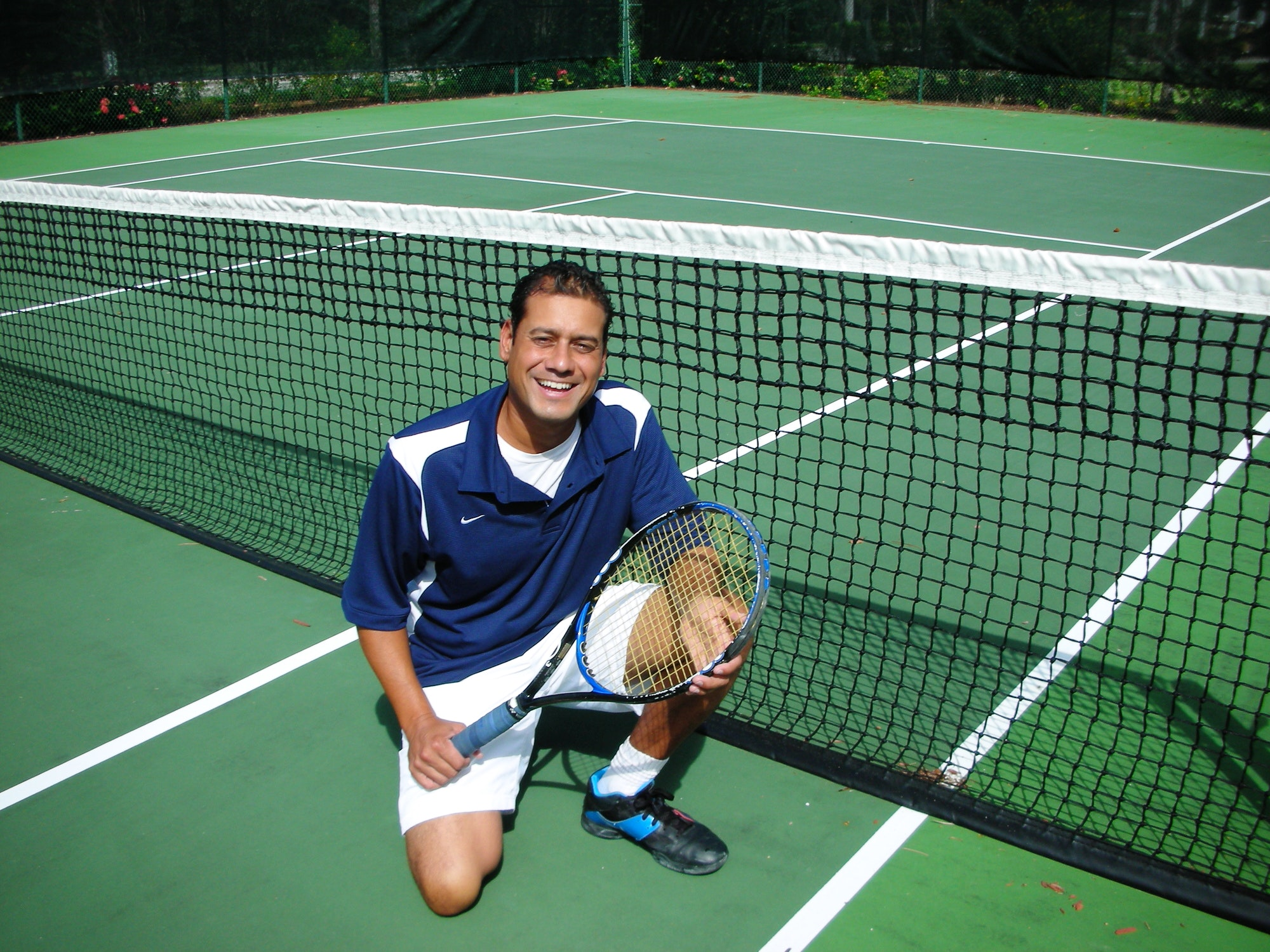 Reto G. teaches tennis lessons in San Antonio, FL