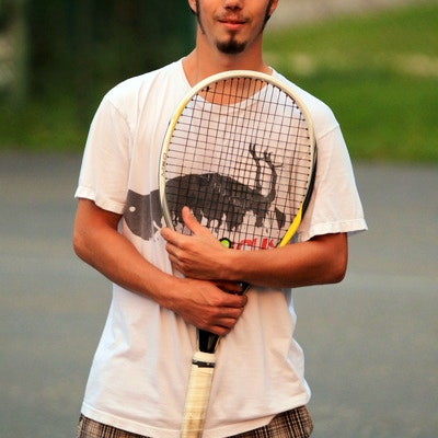 Mike B. teaches tennis lessons in Windsor, ON
