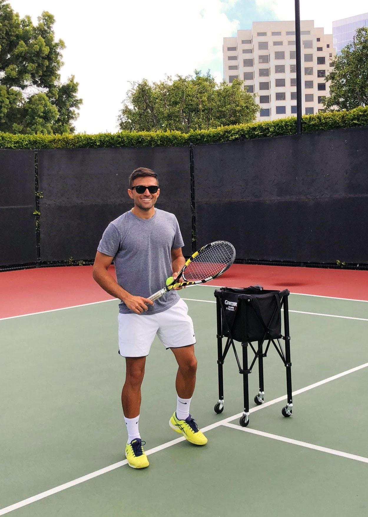 Ardi S. teaches tennis lessons in Irvine, CA