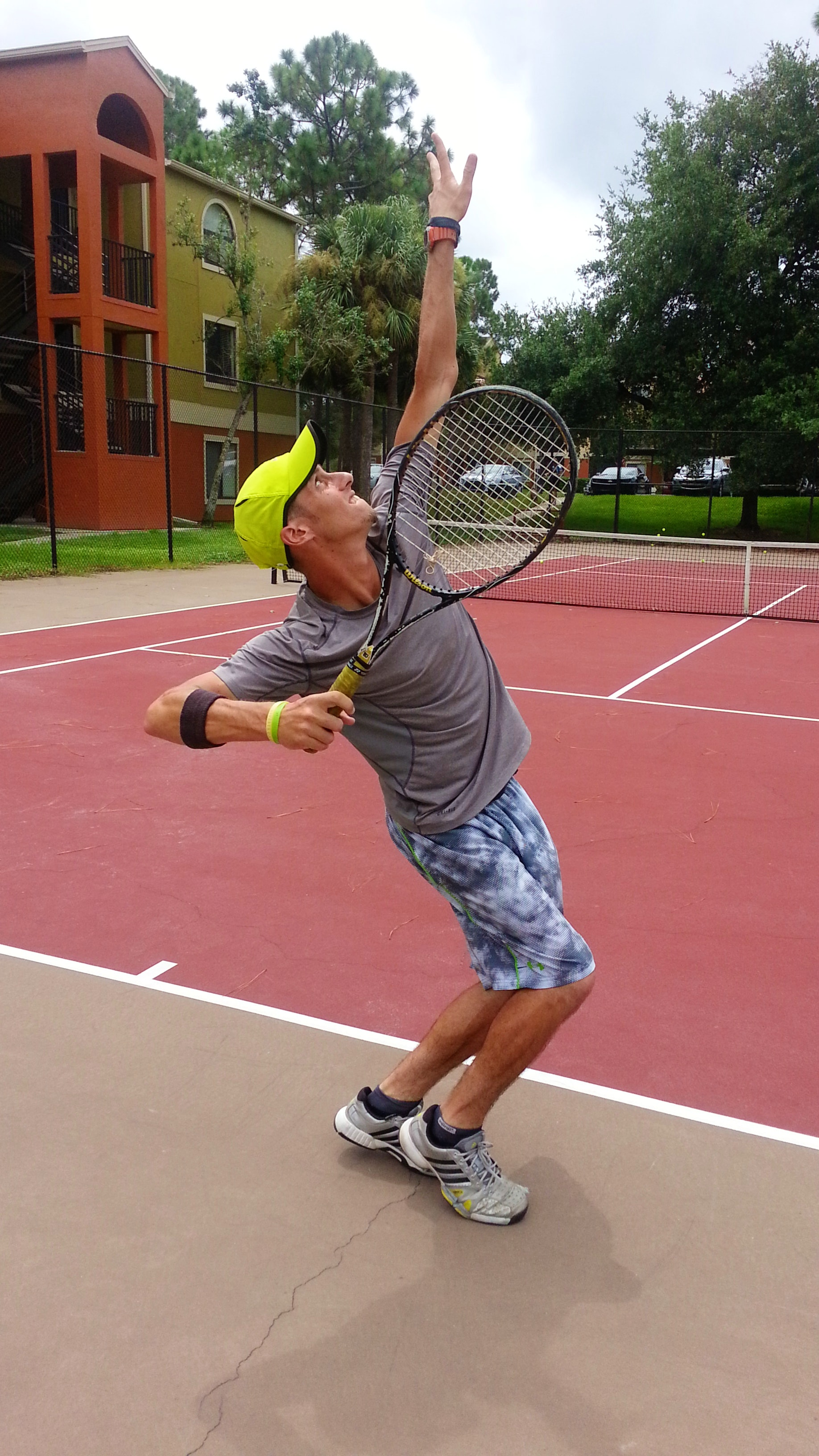 Peter M. teaches tennis lessons in Lake Mary, FL