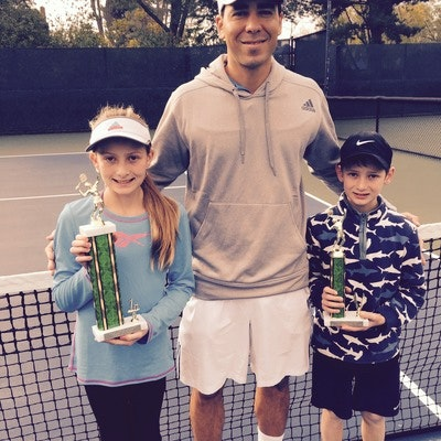 Francois C. teaches tennis lessons in San Diego, CA