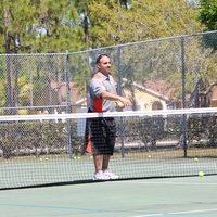 Adam teaches tennis lessons in West Palm Beach, FL