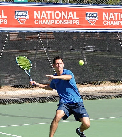 Nicholas G. teaches tennis lessons in Delray Beach, FL