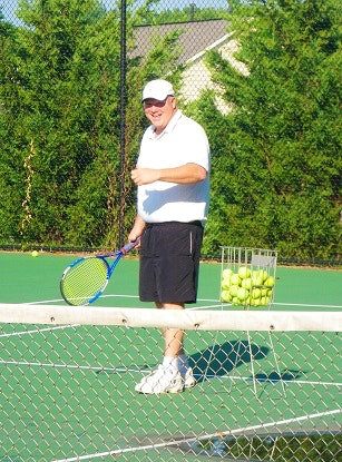 James H. teaches tennis lessons in Rockville, MD