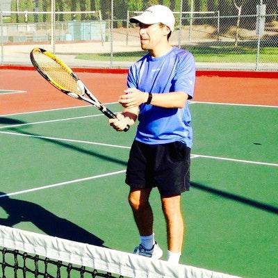 Diego T. teaches tennis lessons in Santa Ana, CA