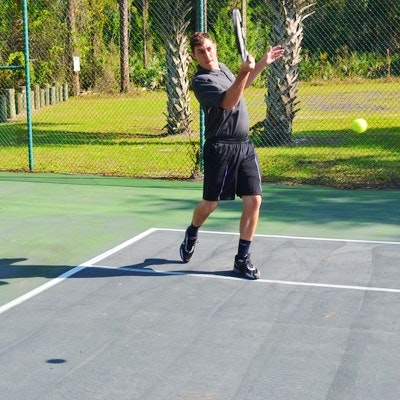 Jon P. teaches tennis lessons in Mims, FL