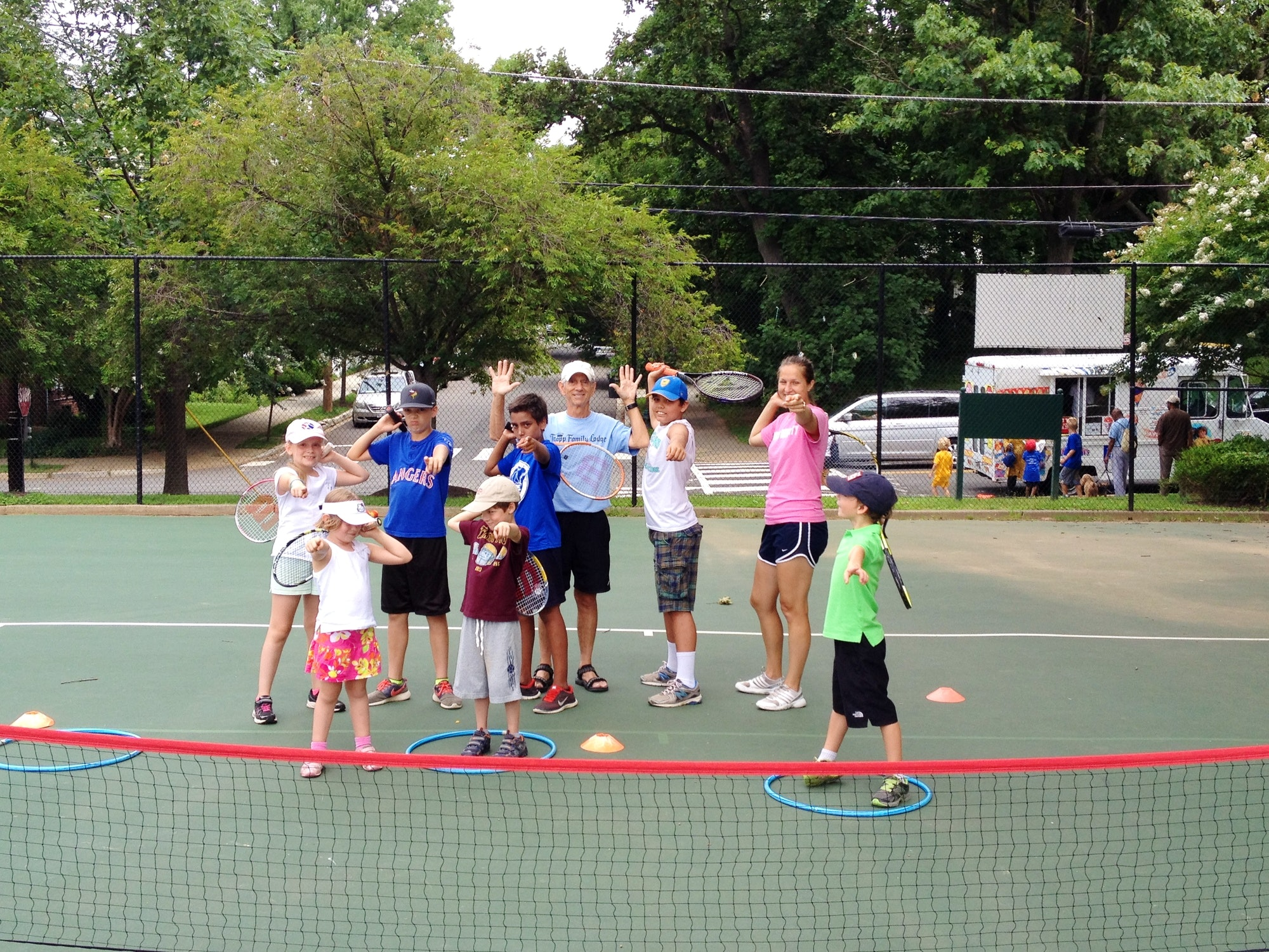 Ernie C. teaches tennis lessons in Arlington, VA
