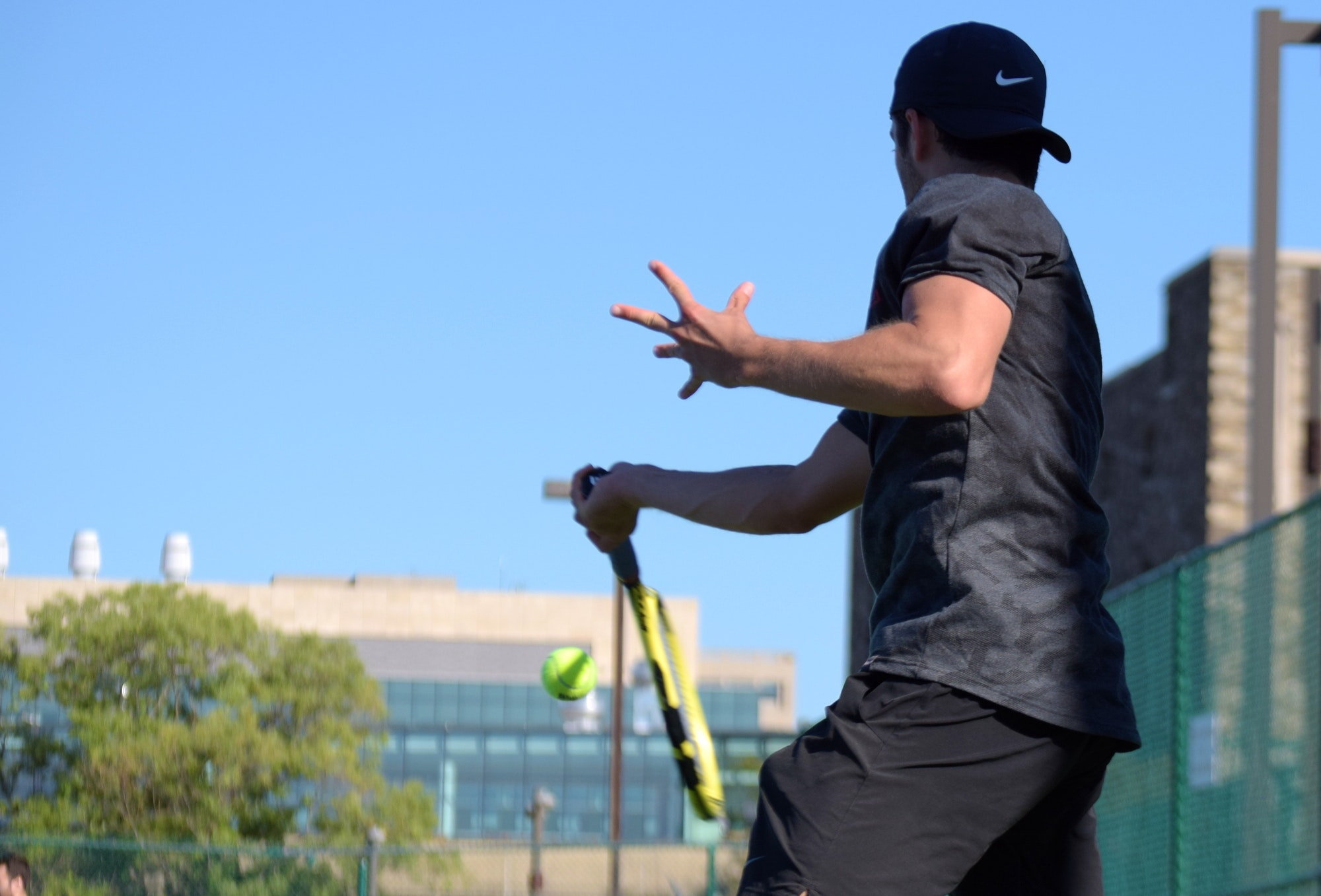 Ian T. teaches tennis lessons in Meadowbrook, PA