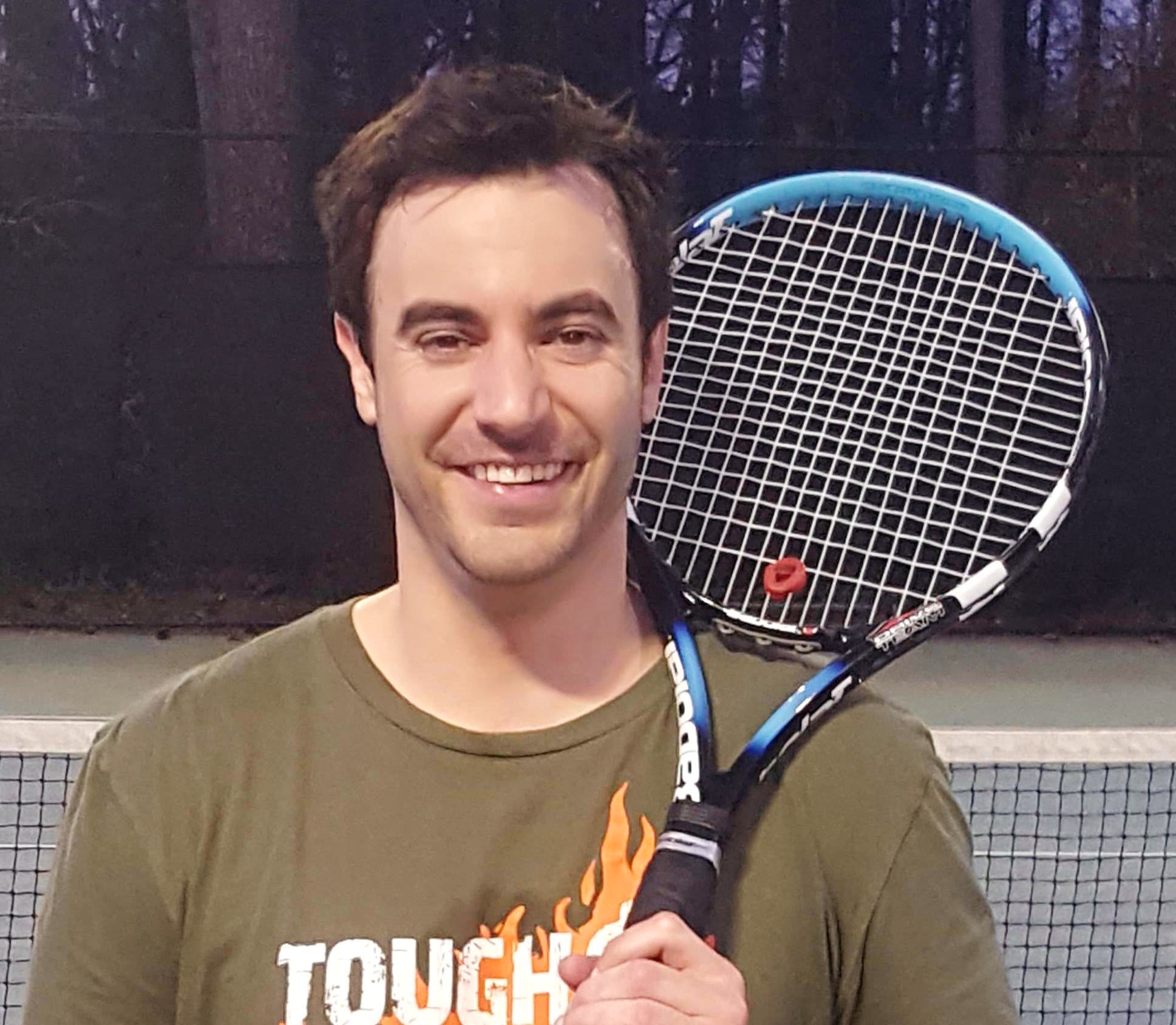 Anthony B. teaches tennis lessons in Colts Neck, NJ