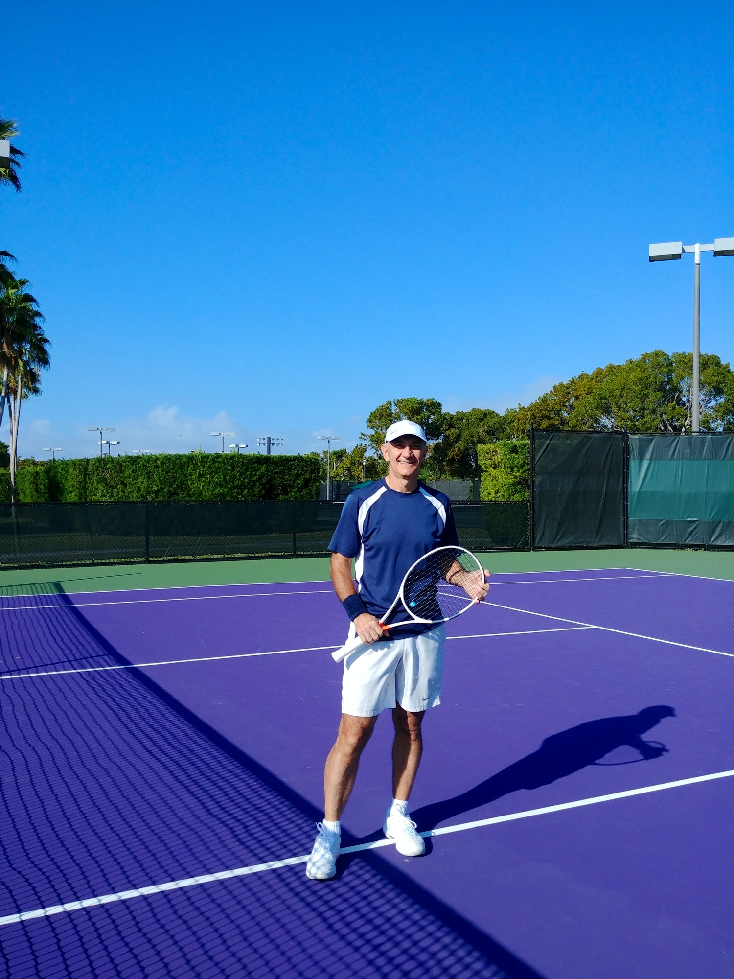 Luis E. teaches tennis lessons in Coconut Creek, FL