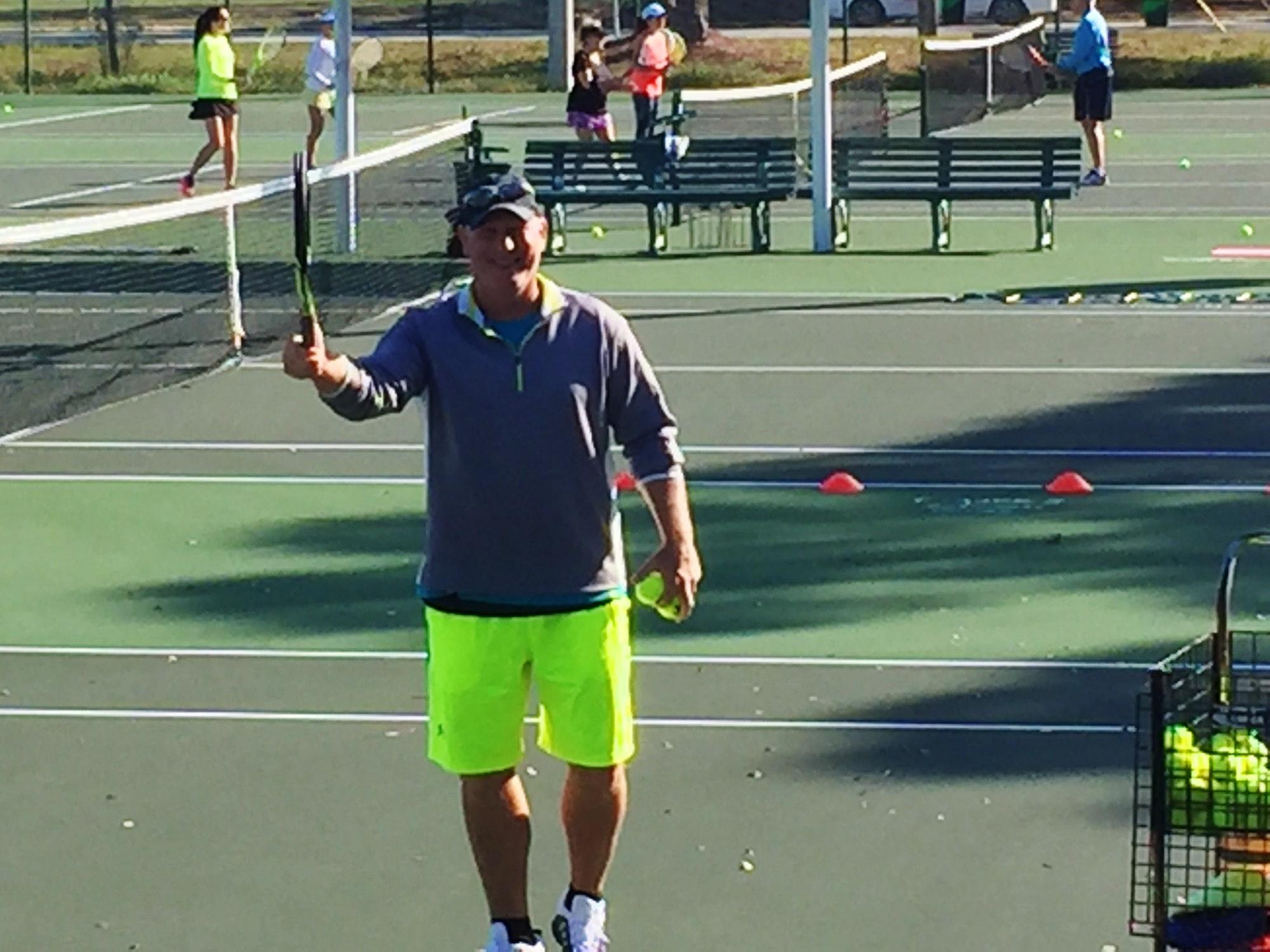 Brian G. teaches tennis lessons in Port St Lucie, FL