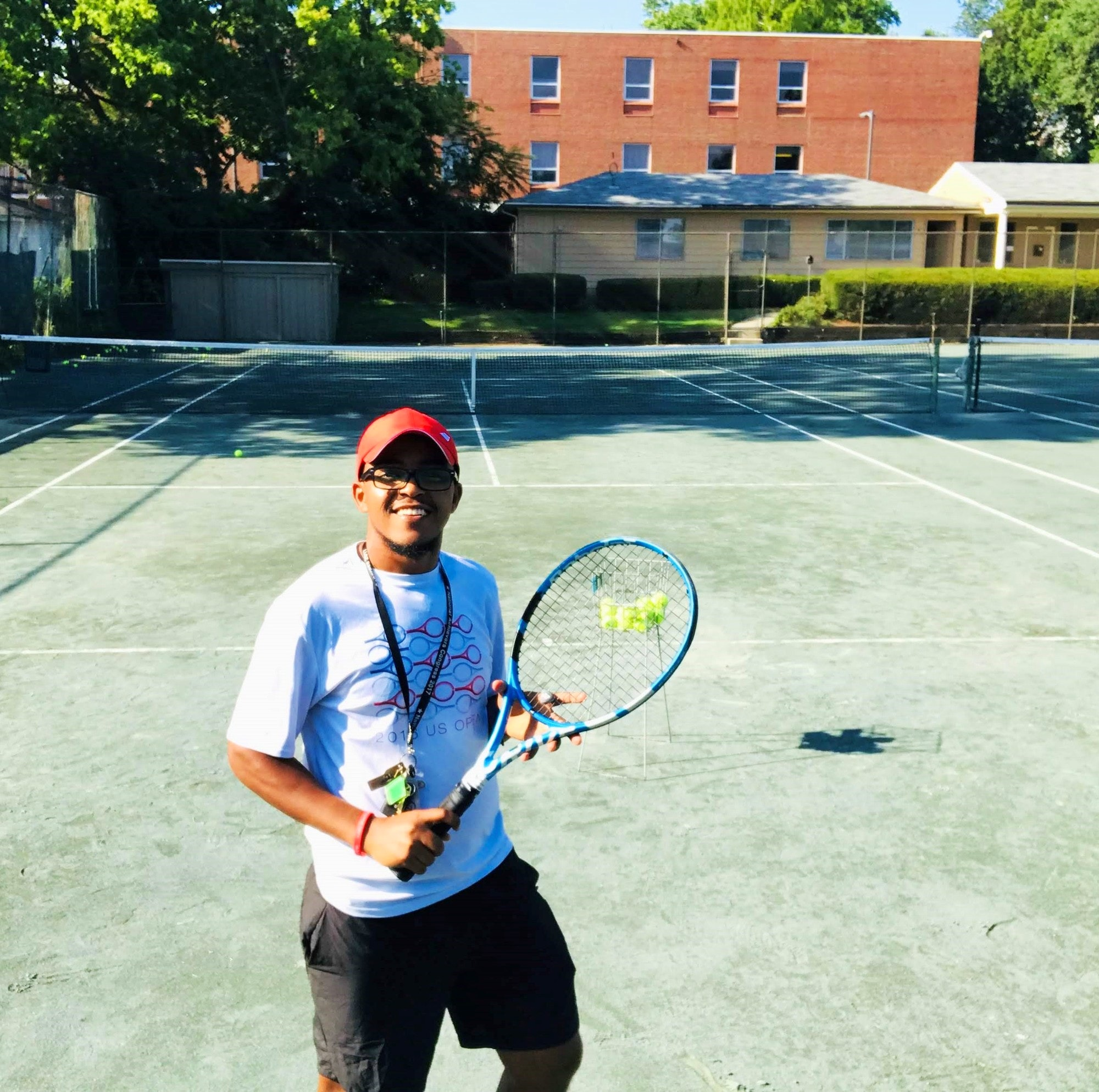 Samuel K. teaches tennis lessons in Waxhaw, NC
