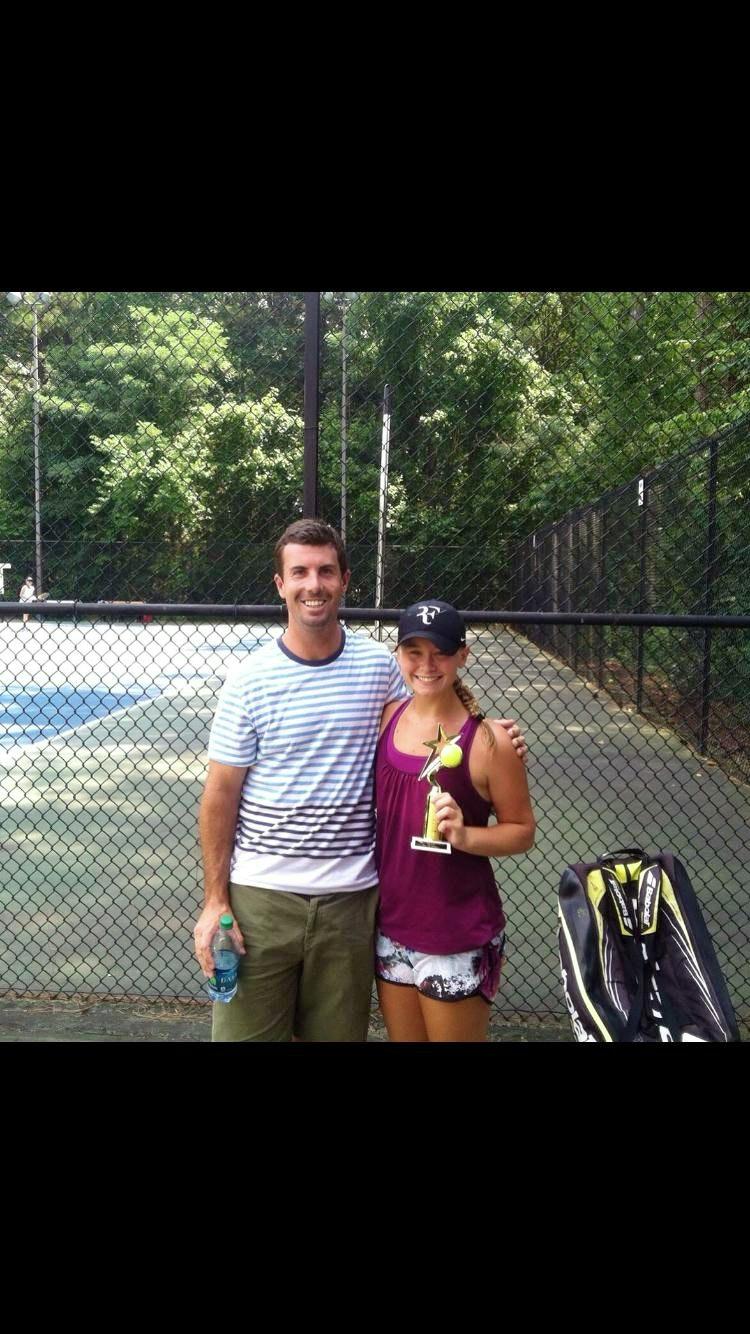 John L. teaches tennis lessons in Scottdale, GA