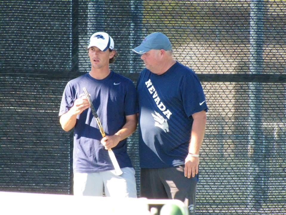 William E. teaches tennis lessons in Scottsdale, AZ