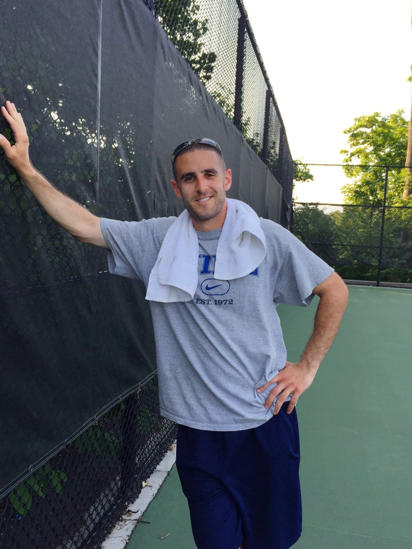 Matthew S. teaches tennis lessons in Glen Cove, NY
