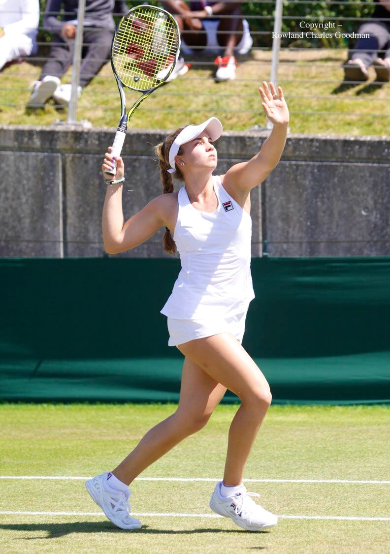 Sofia S. teaches tennis lessons in Doral , FL