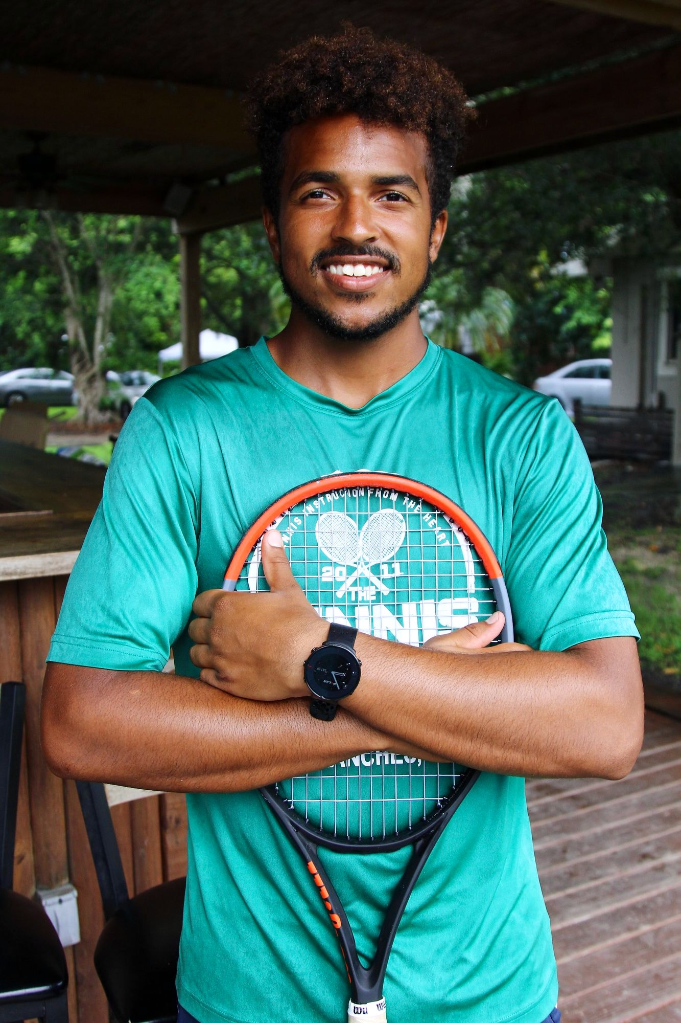 Joshua S. teaches tennis lessons in Davie, FL