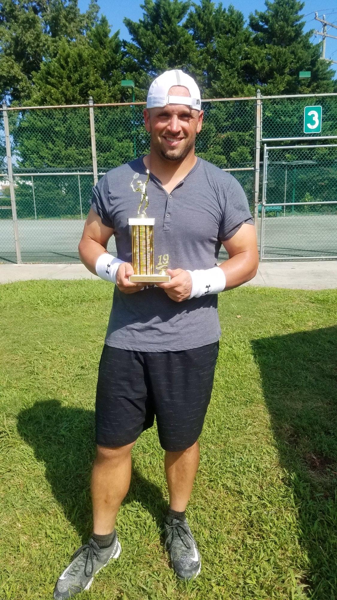 Matthew R. teaches tennis lessons in Boykins, VA
