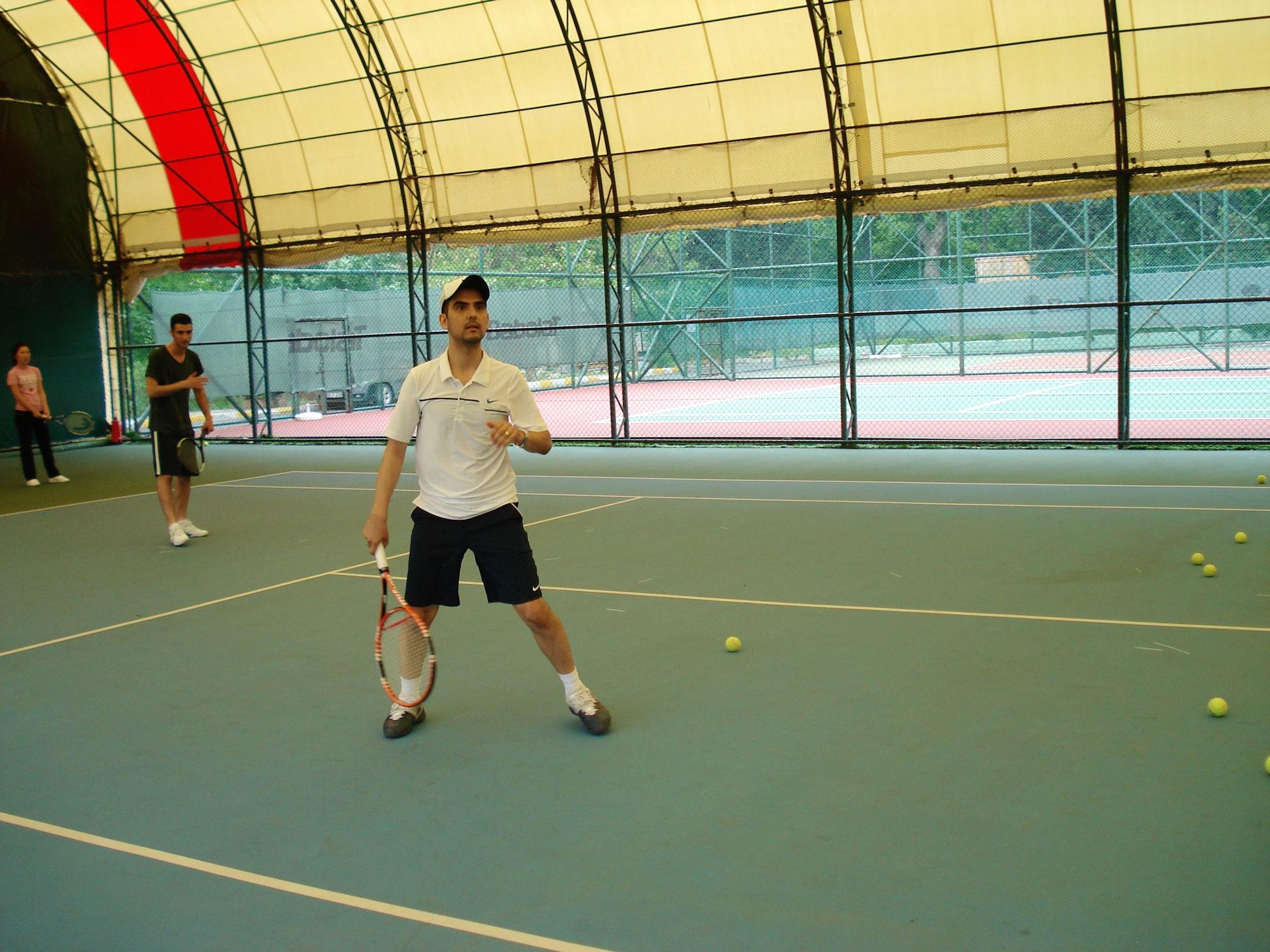 John A. teaches tennis lessons in Tysons Corner, VA