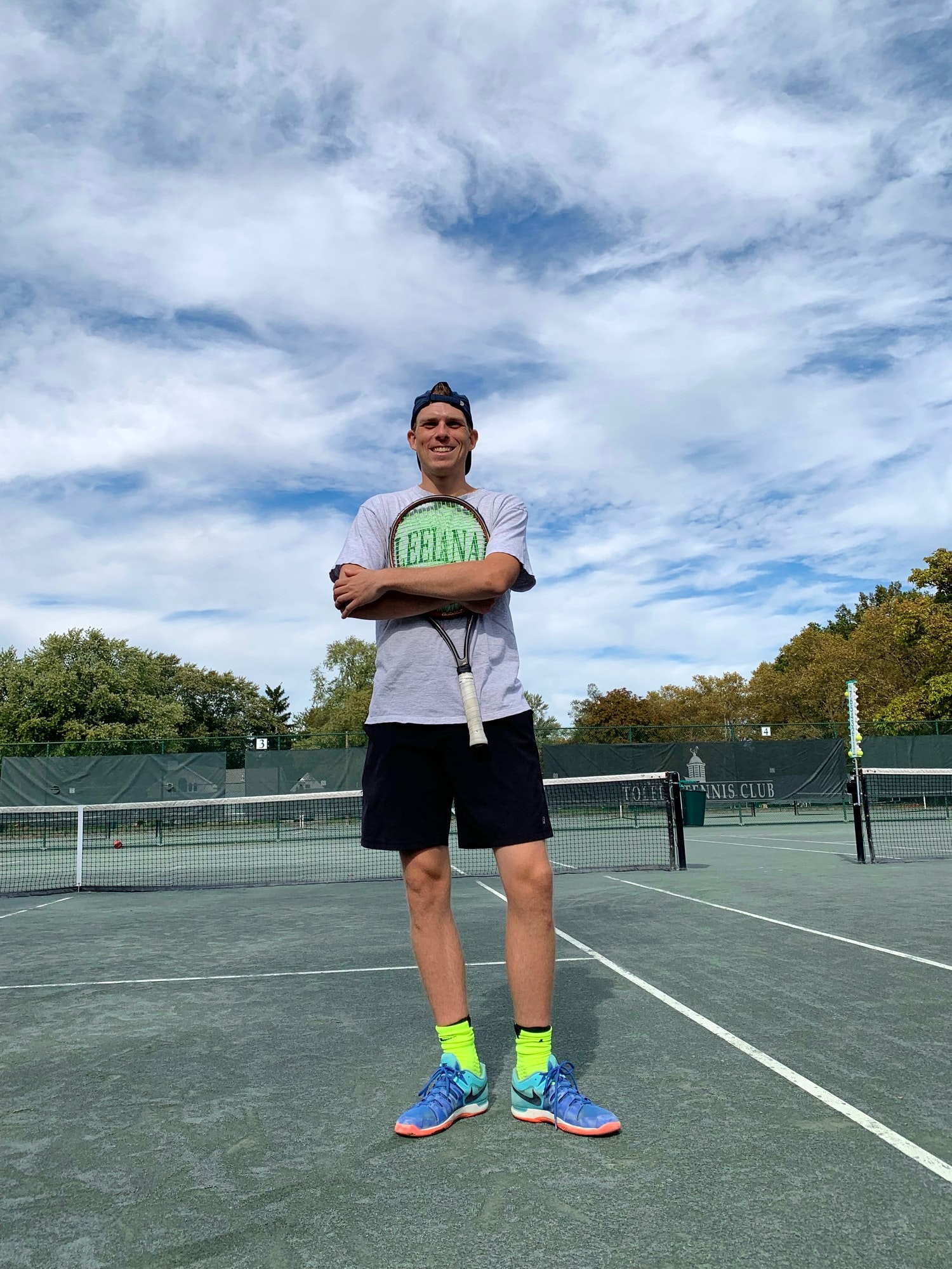Grant M. teaches tennis lessons in Columbus, OH