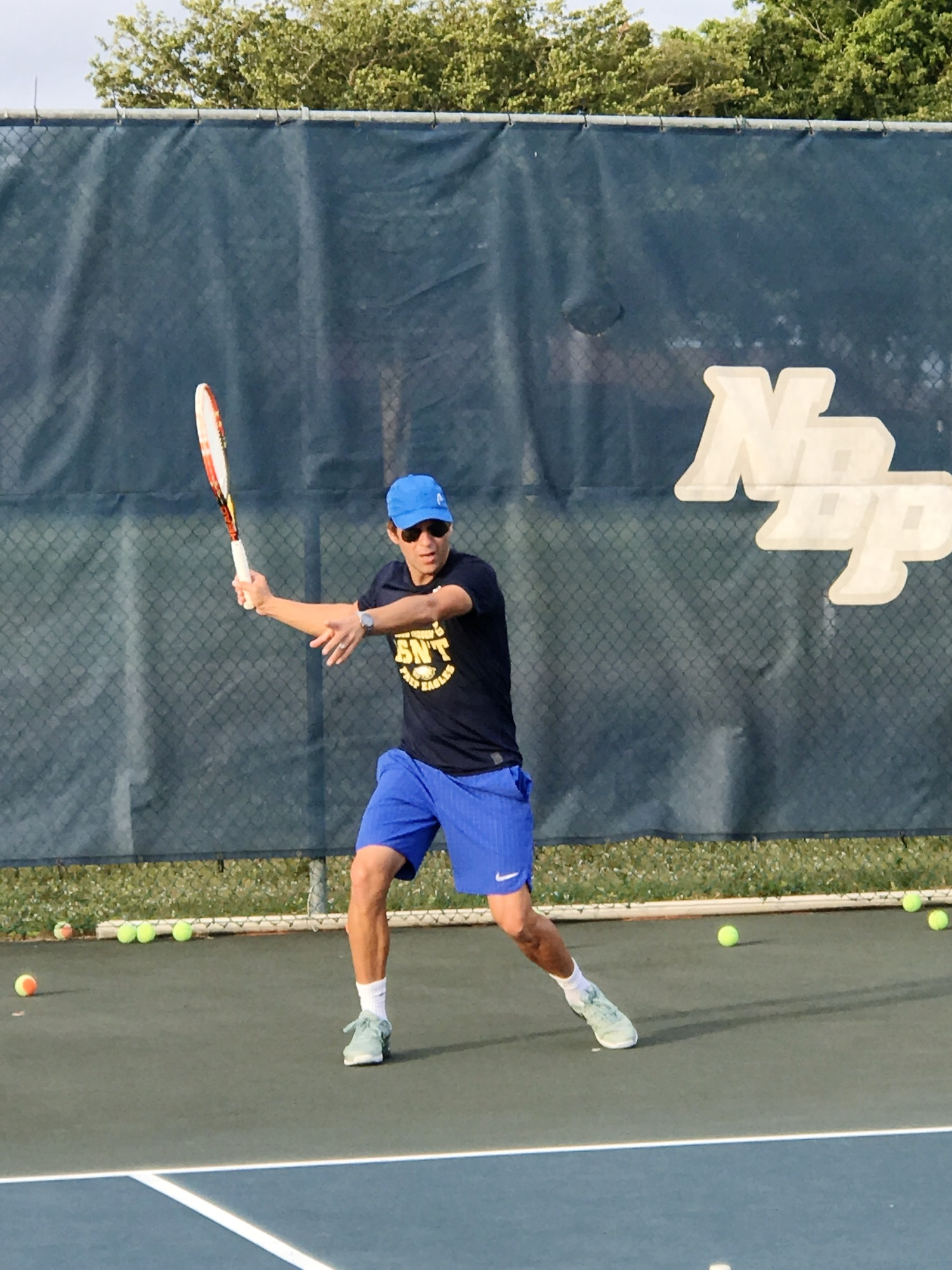 Dalibor N. teaches tennis lessons in Coconut Creek , FL
