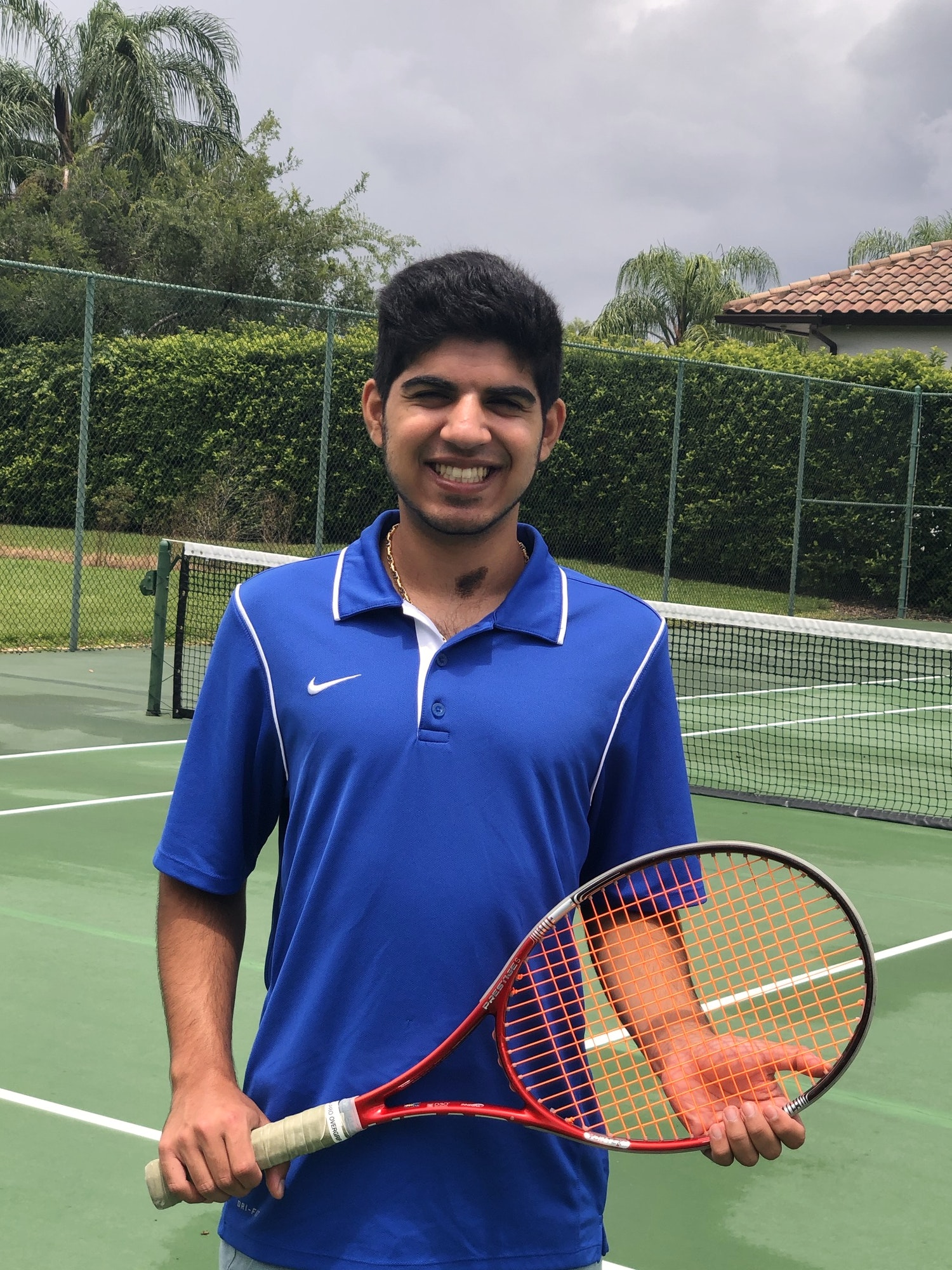 Rishi L. teaches tennis lessons in Windermere, FL