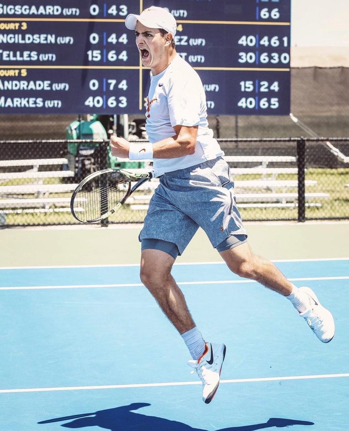 Rodrigo B. teaches tennis lessons in Plantation, FL