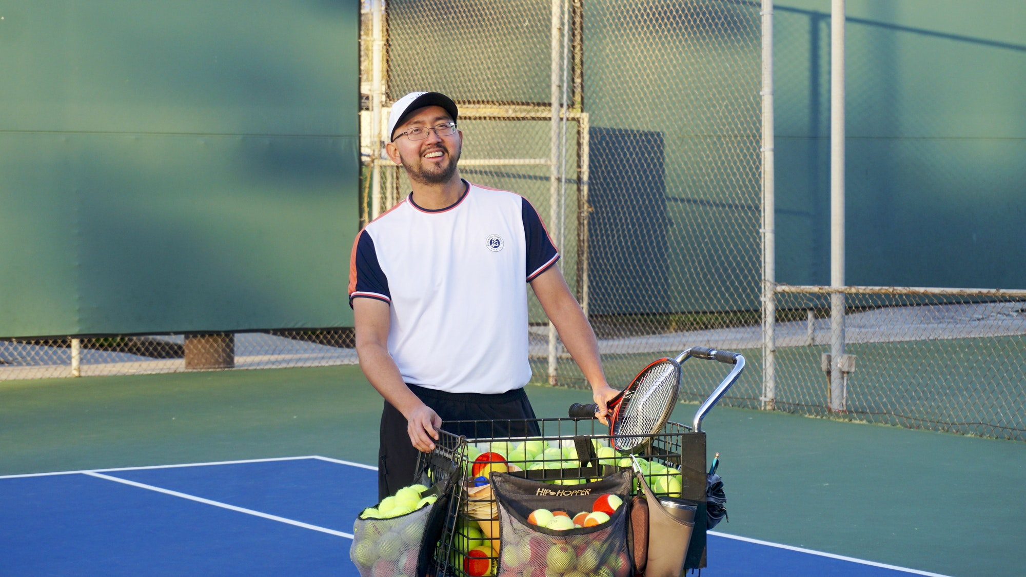 Hau N. teaches tennis lessons in San Diego, CA