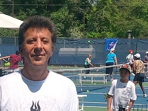 Peter A. teaches tennis lessons in Pearl River, NY