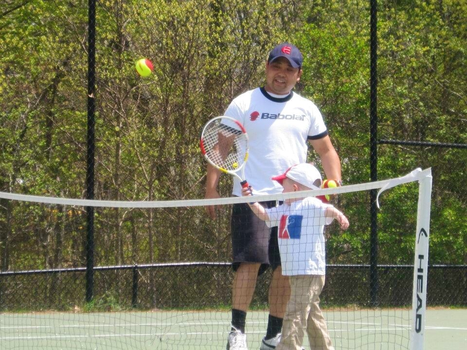Ed E. teaches tennis lessons in Mount Sinai, NY