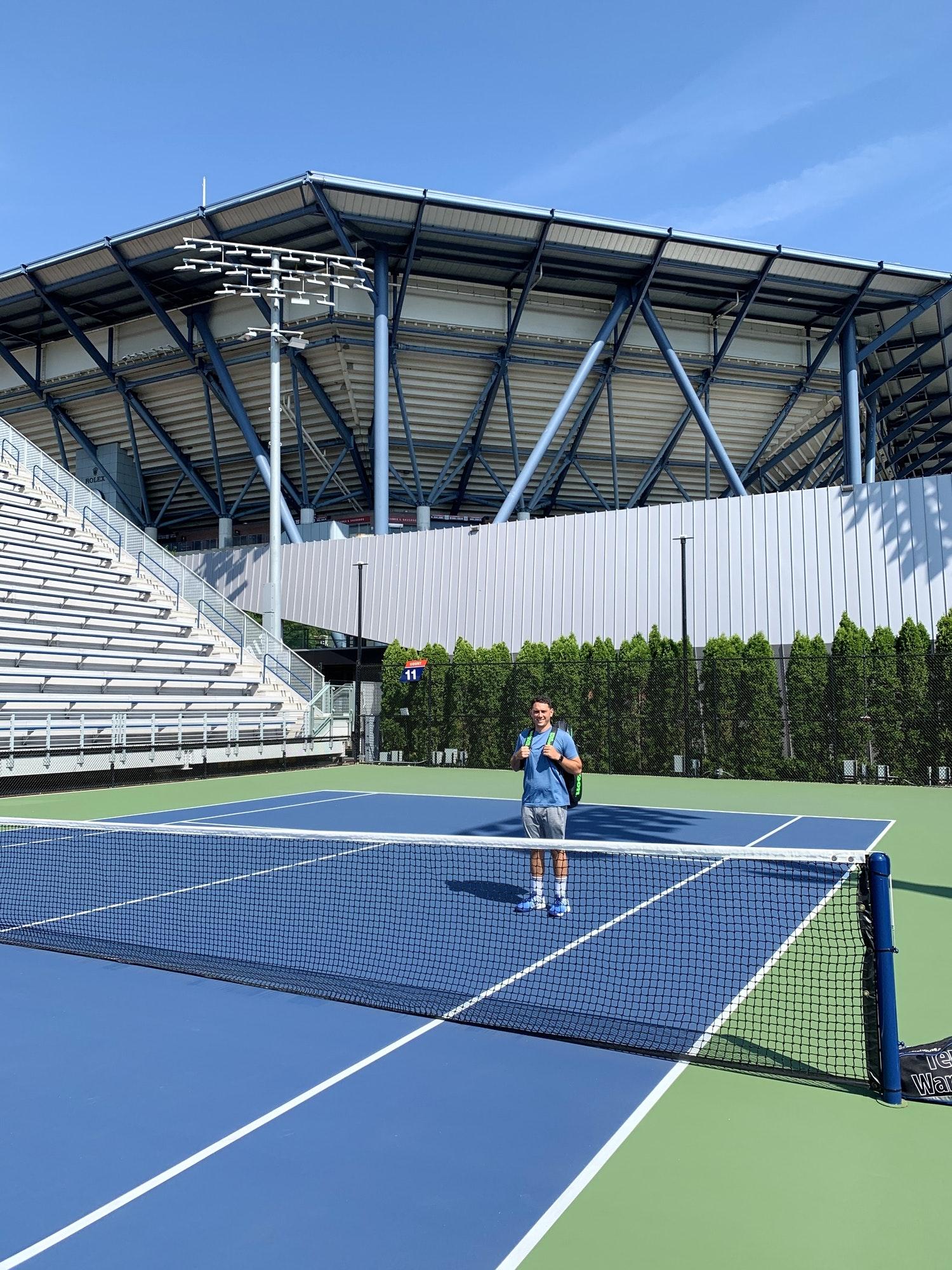 Josh D. teaches tennis lessons in Massapequa Park, NY