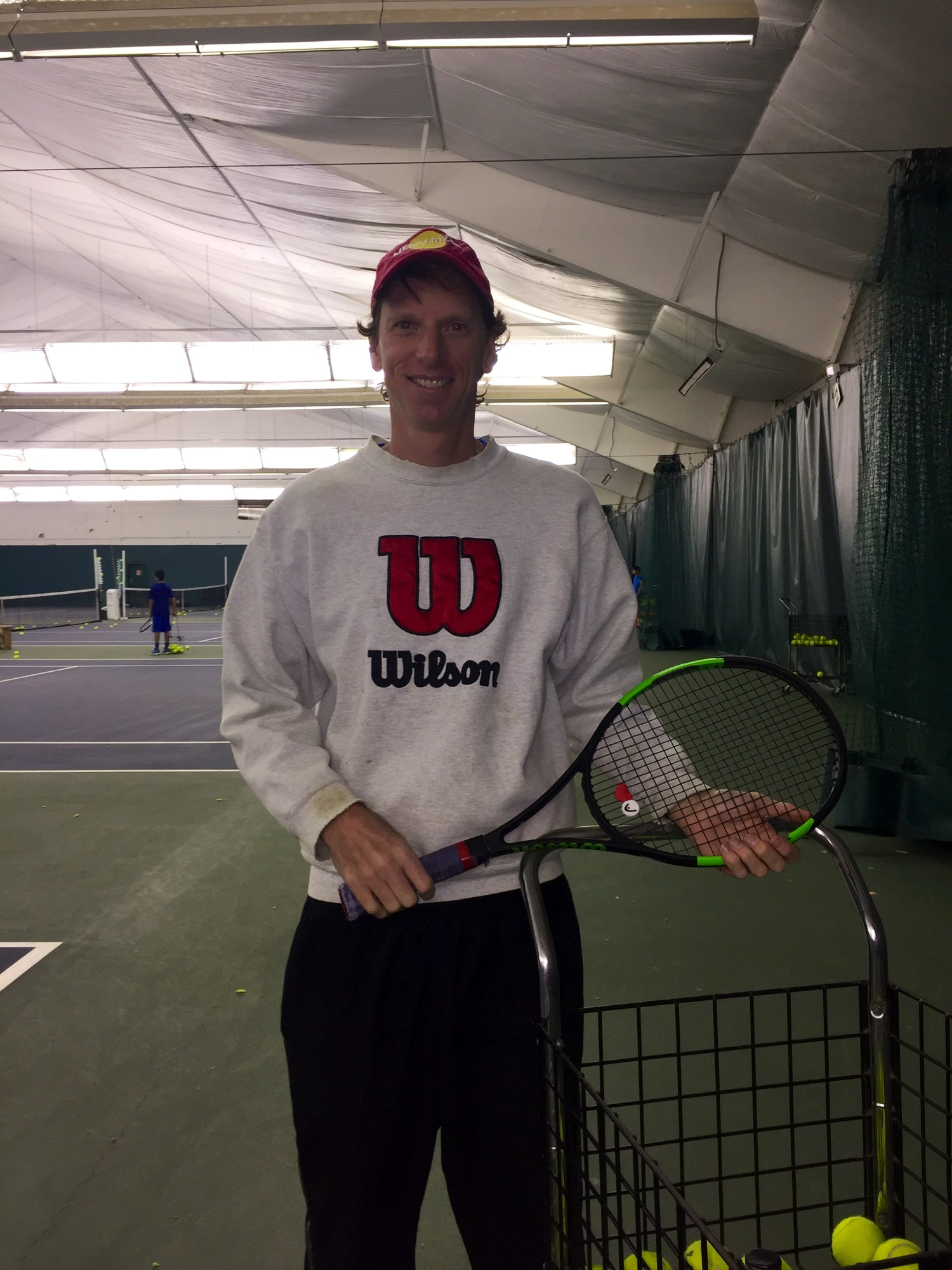 Ron M. teaches tennis lessons in Gibsonia , PA