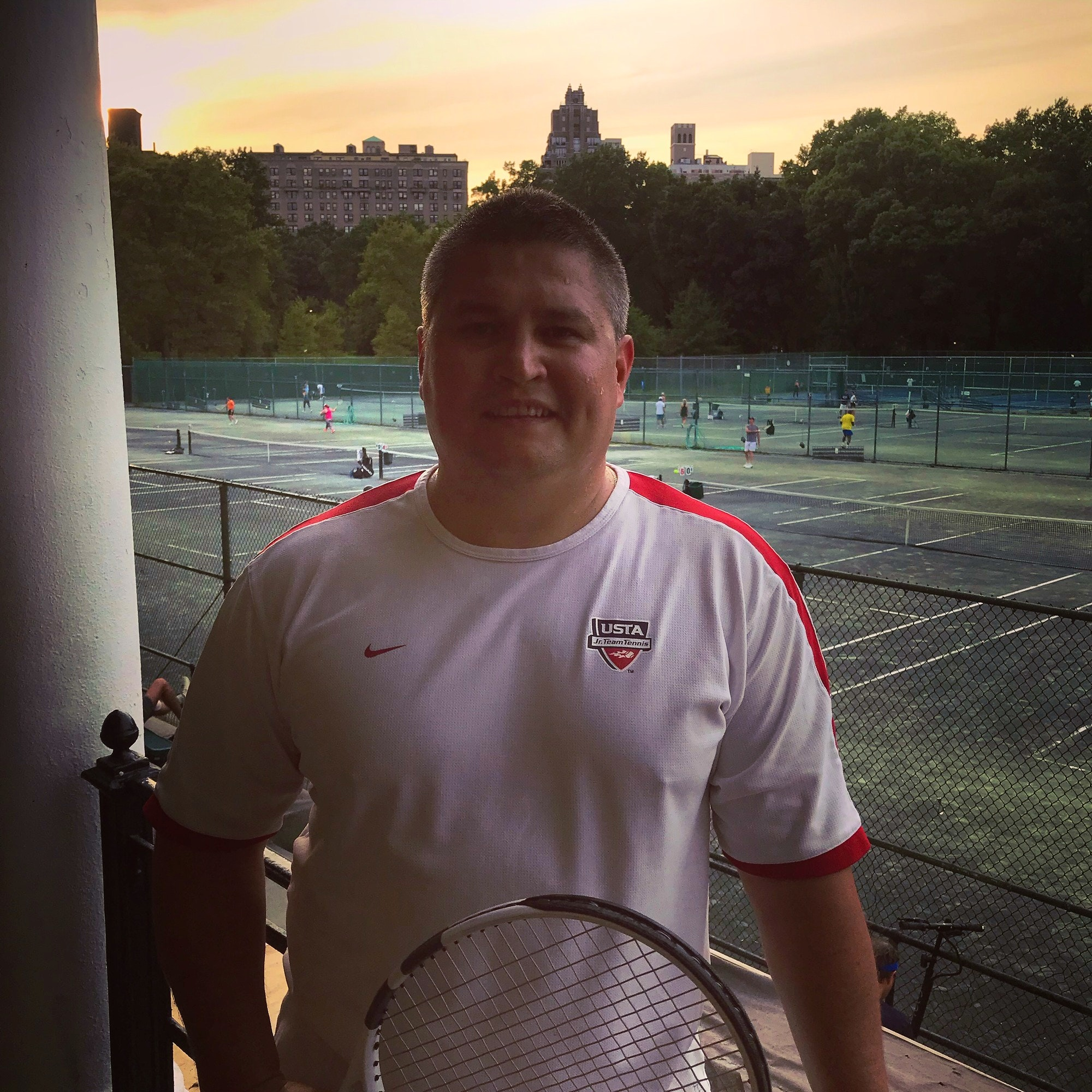 Alexander P. teaches tennis lessons in Brooklyn, NY