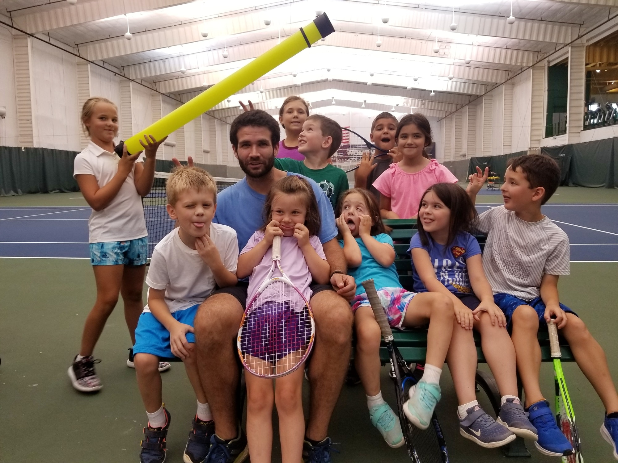 Sam H. teaches tennis lessons in Greenbelt, MD
