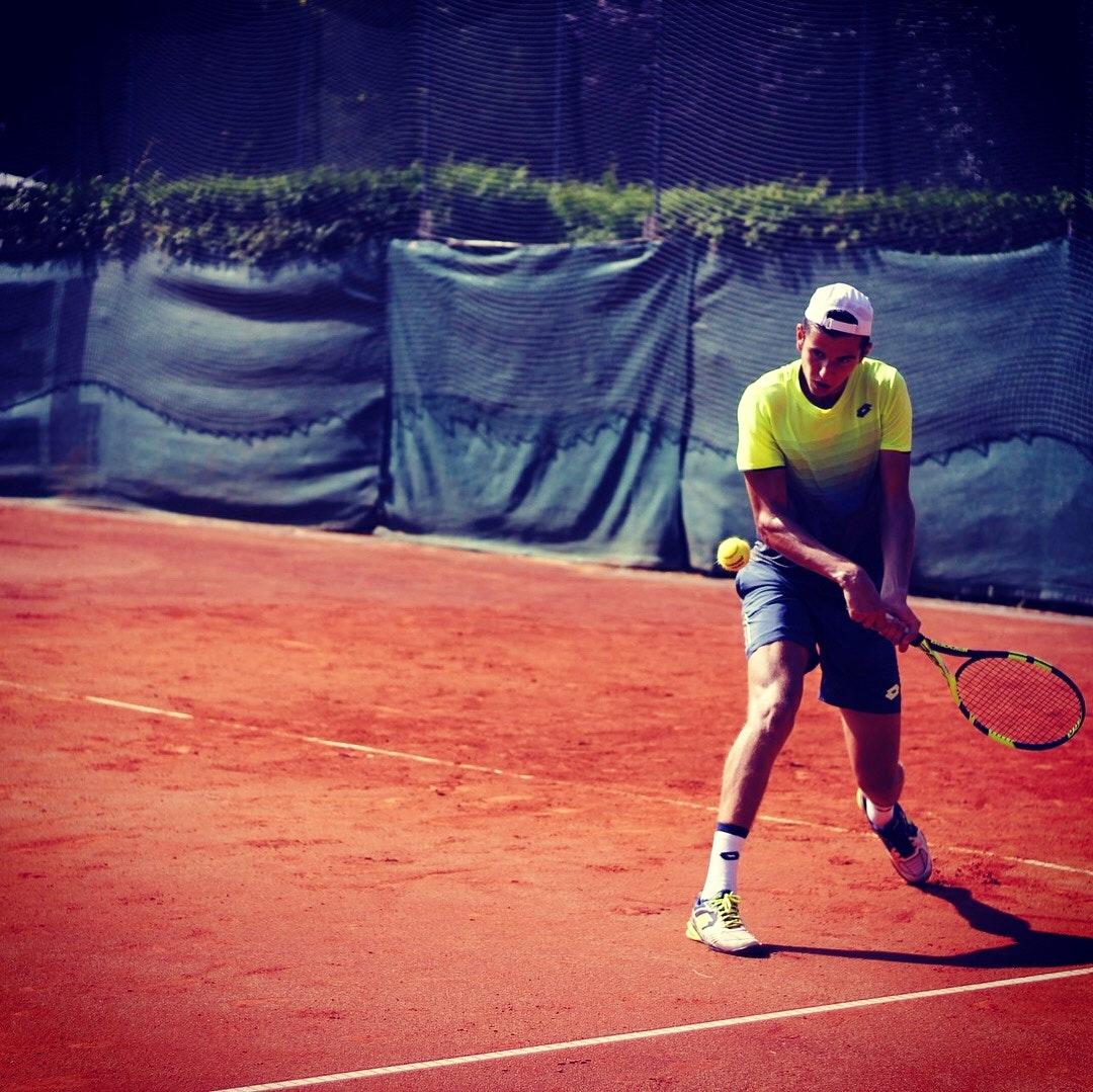 Luka M. teaches tennis lessons in Wichita, KS