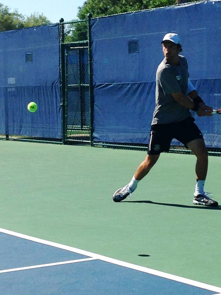 Keegan B. teaches tennis lessons in Newport Beach , CA