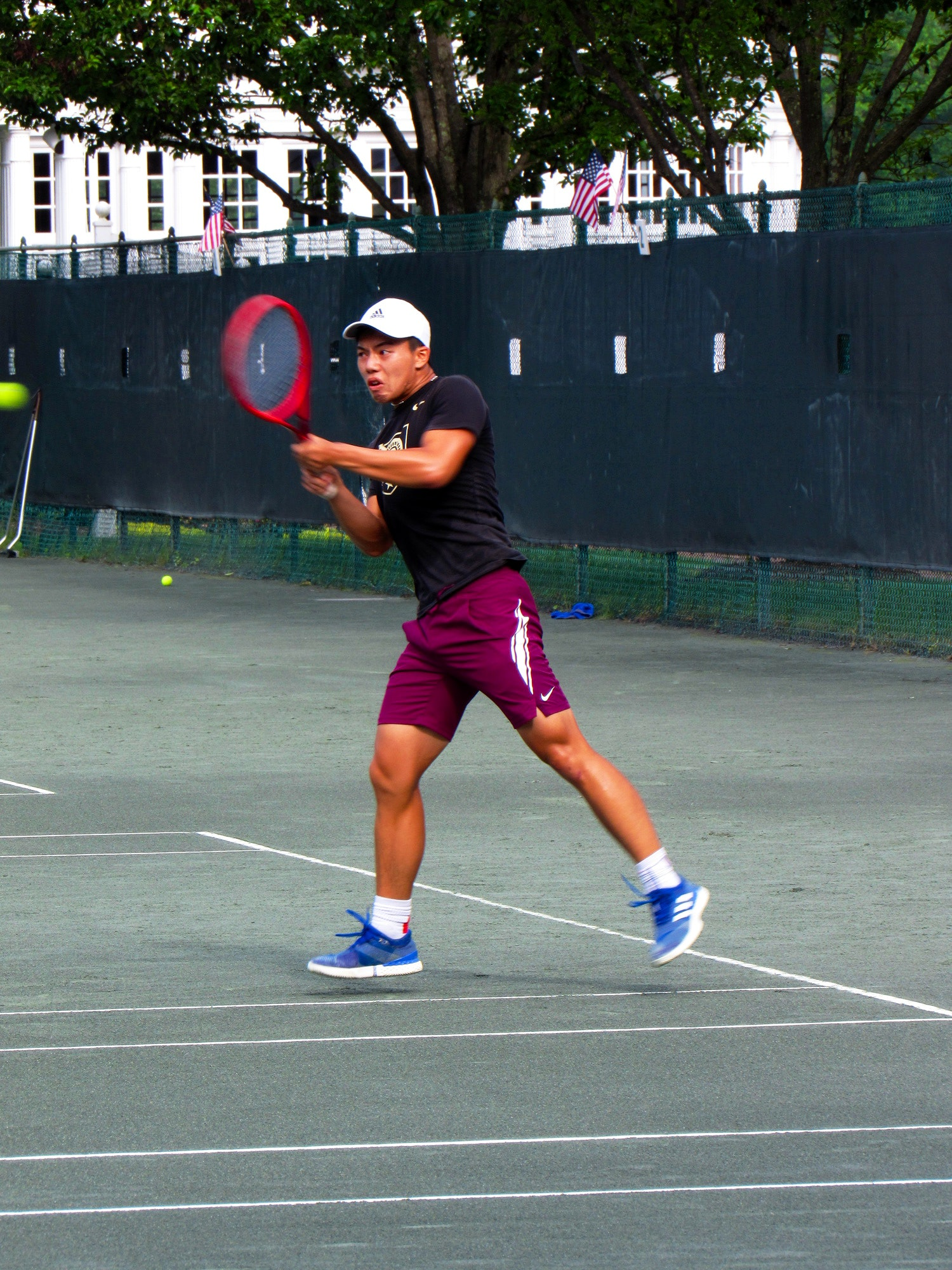 Wesley Z. teaches tennis lessons in Staten Island, NY