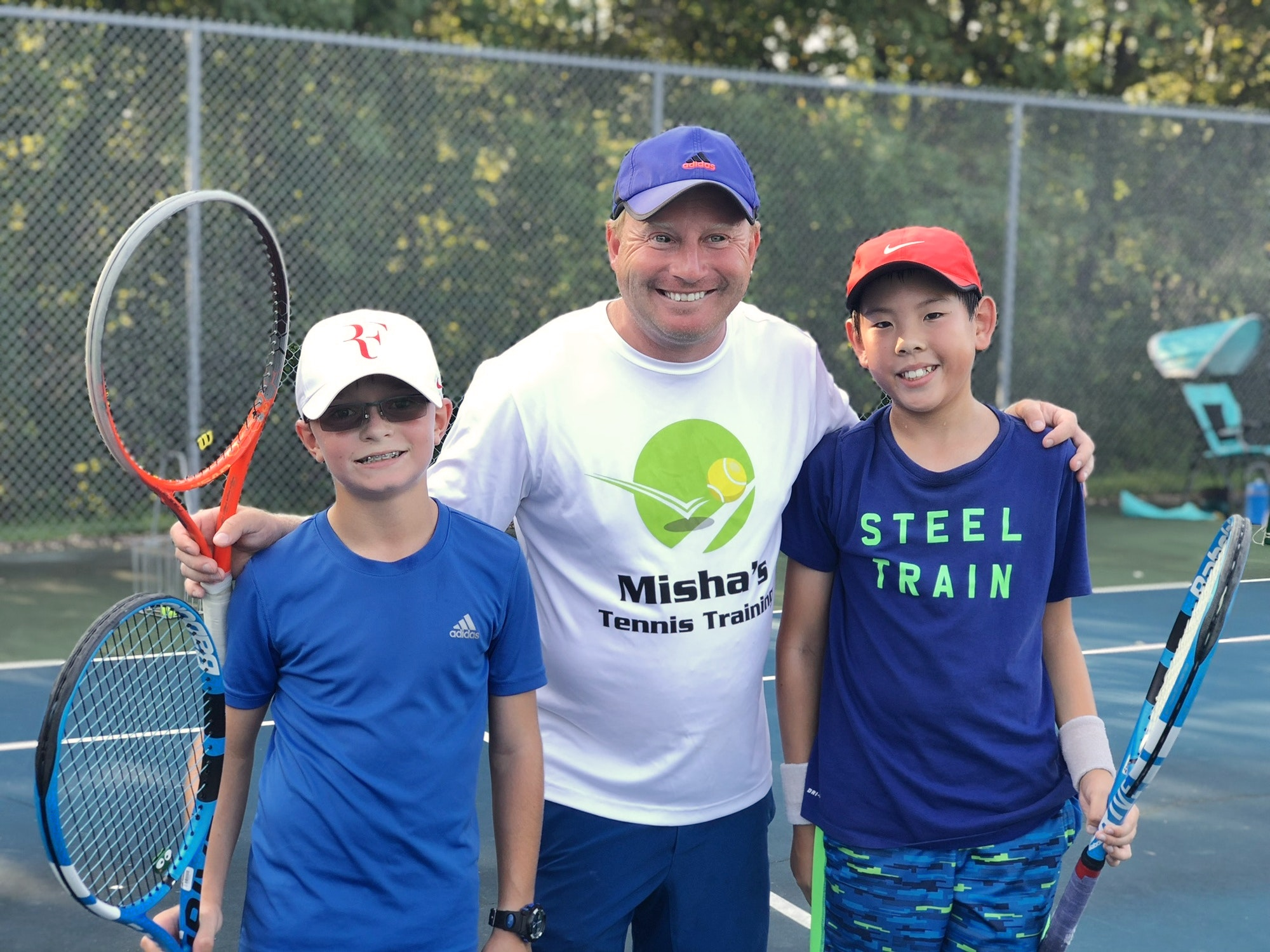 Misha K. teaches tennis lessons in Middletown , MD