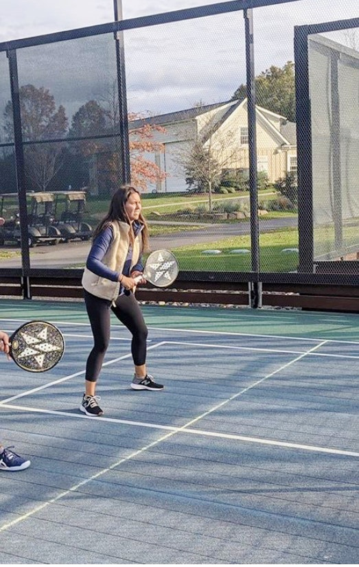 Vanessa P. teaches tennis lessons in Chatham, NJ