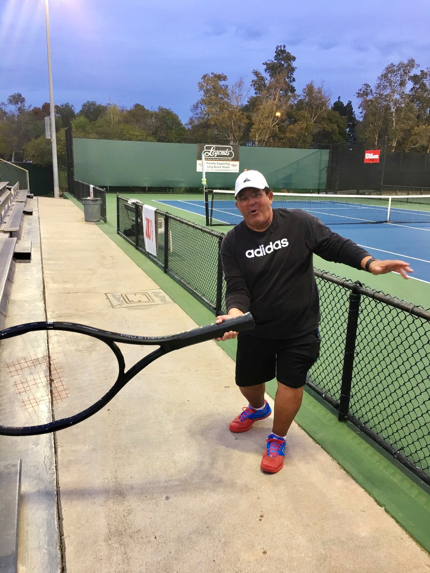 Joe S. teaches tennis lessons in Downey, CA