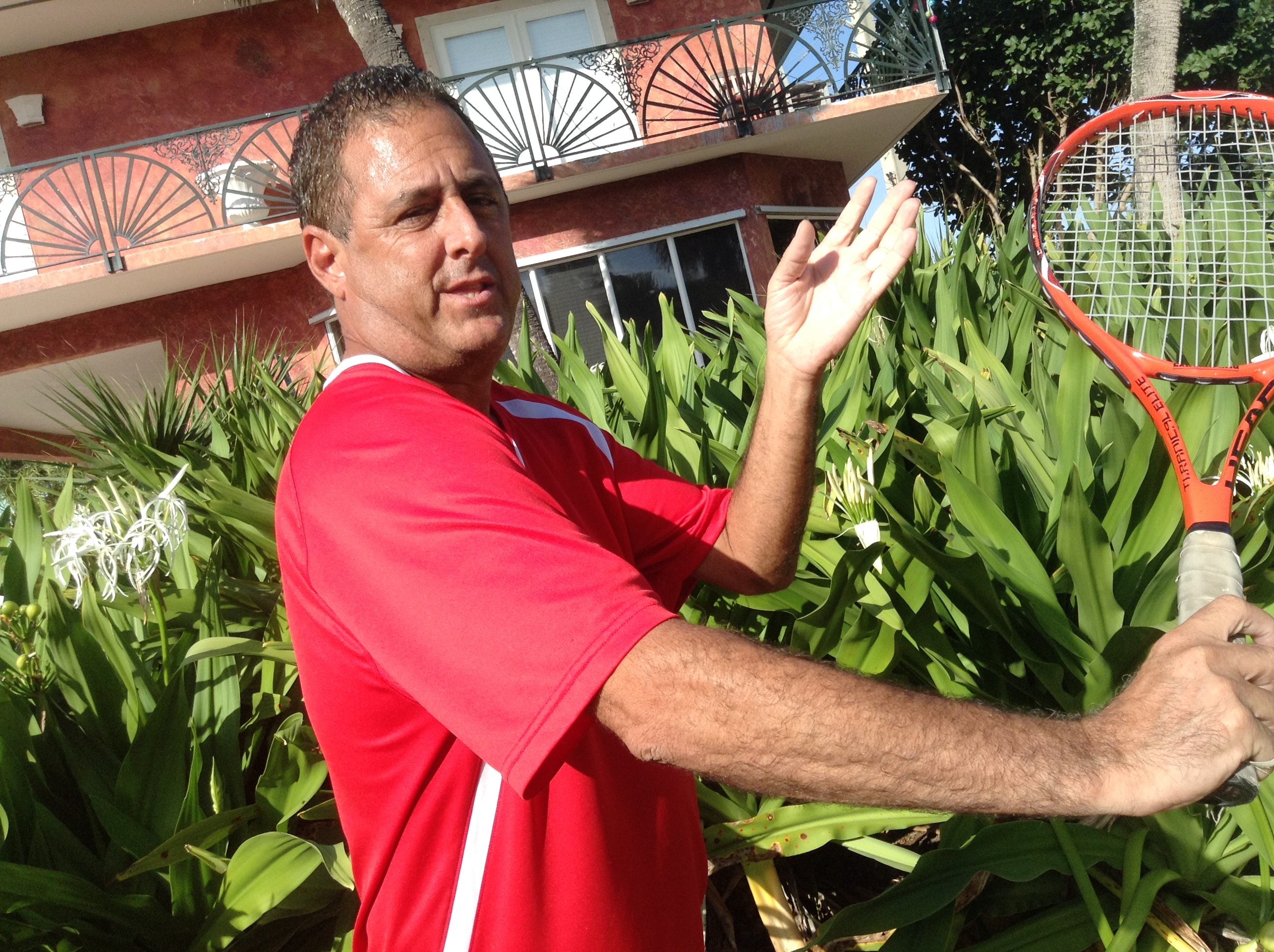 Jason G. teaches tennis lessons in Vero Beach, FL