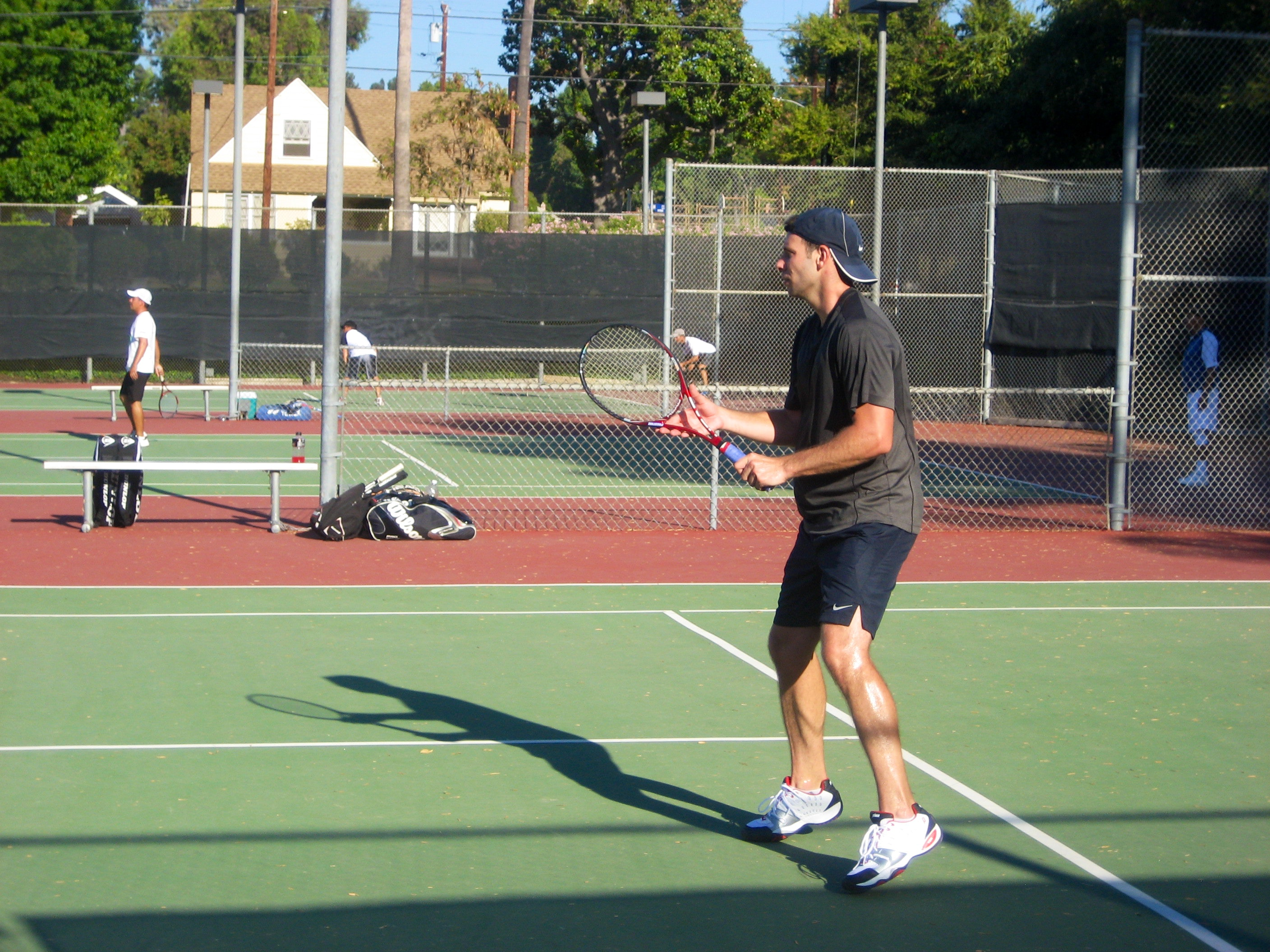 Michael T. teaches tennis lessons in San Dimas, CA