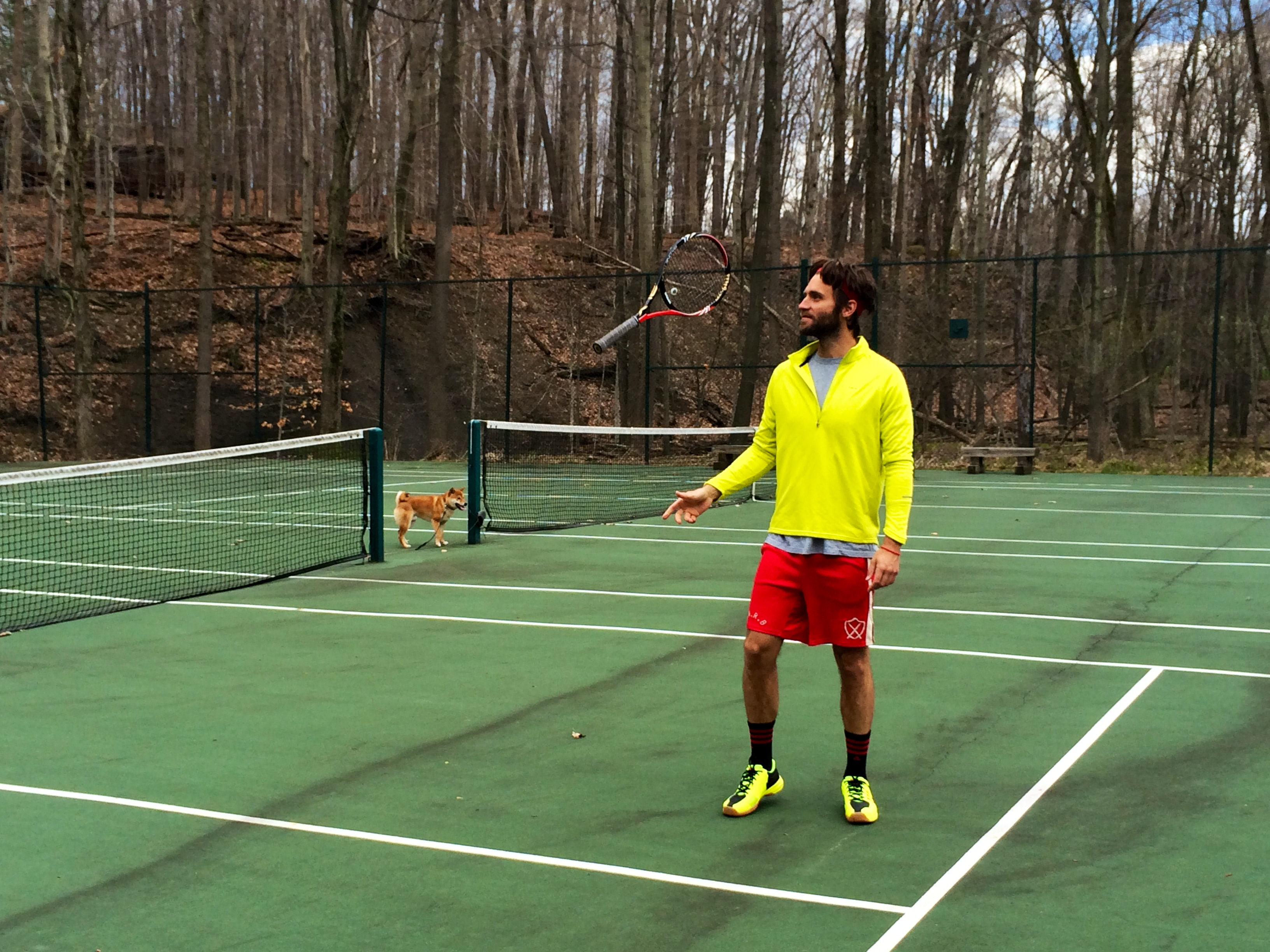 Janez A. teaches tennis lessons in Strongsville , OH
