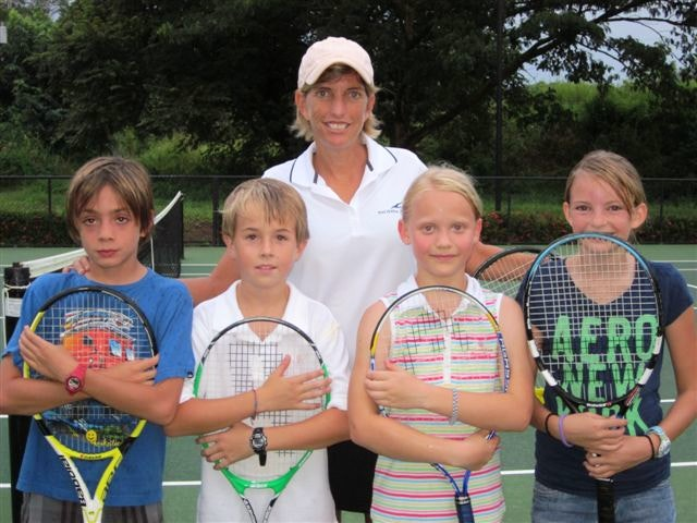 Karen R. teaches tennis lessons in Boca, FL