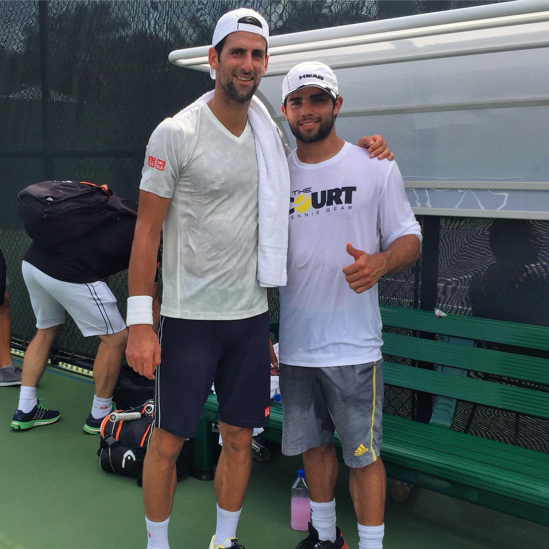 Kurt T. teaches tennis lessons in Key Biscayne, FL