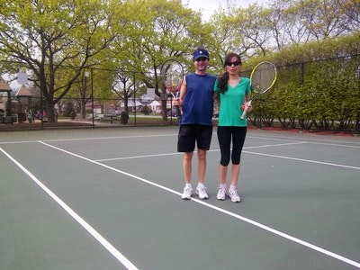 Toni L. teaches tennis lessons in Skokie, IL