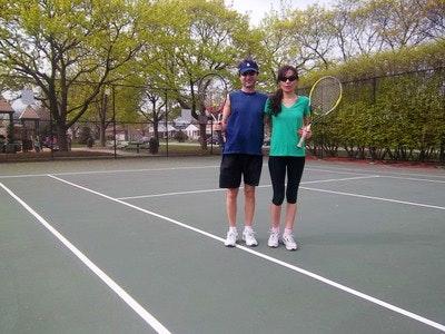 Toni L. teaches tennis lessons in Skokie, IL